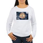 Virginia Flag Women's Long Sleeve T-Shirt