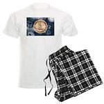 Virginia Flag Men's Light Pajamas