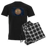 Virginia Flag Men's Dark Pajamas