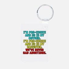 Pro-choice/mother/daughter - Keychains