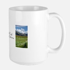 Silverado Trail, Napa Valley Large Mug