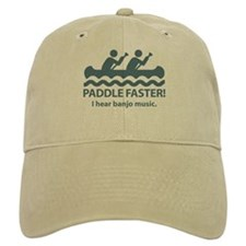 Paddle Faster I Hear Banjo Music Baseball Cap