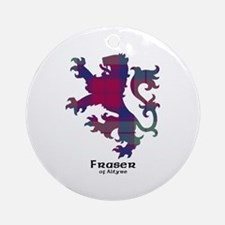 Lion - Fraser of Altyre Ornament (Round)