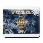 Wisconsin Flag Mousepad