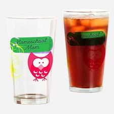 Funny Homeschool Drinking Glass