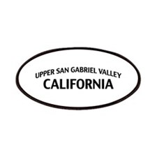 Upper San Gabriel Valley California Patches
