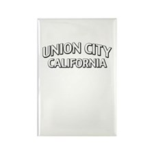 Union City California Rectangle Magnet