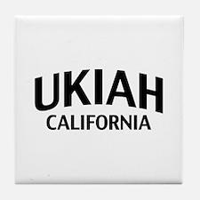 Ukiah California Tile Coaster