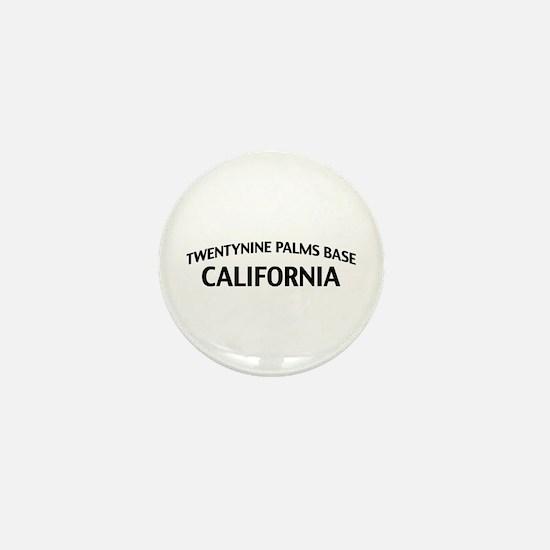 Twentynine Palms Base California Mini Button