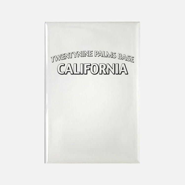 Twentynine Palms Base California Rectangle Magnet