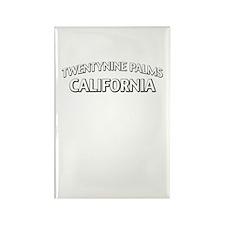 Twentynine Palms California Rectangle Magnet