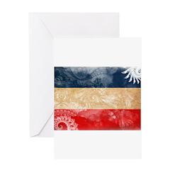 Yugoslavia Flag Greeting Card