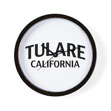 Tulare California Wall Clock