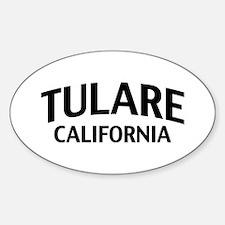 Tulare California Sticker (Oval)