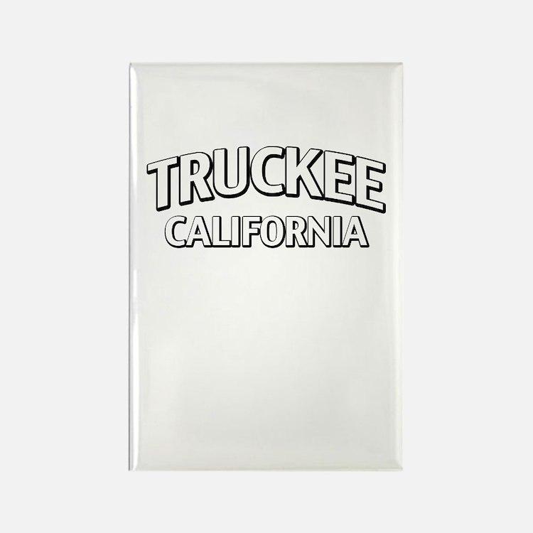 Truckee California Rectangle Magnet