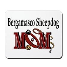 Bergamasco Sheepdog Mom Mousepad