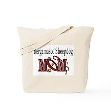 Bergamasco Sheepdog Mom Tote Bag
