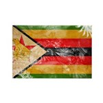 Zimbabwe Flag Rectangle Magnet (100 pack)