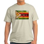 Zimbabwe Flag Light T-Shirt