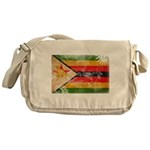 Zimbabwe Flag Messenger Bag