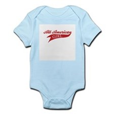 All American Girl Infant Creeper