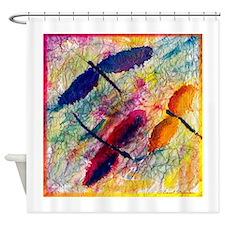 Dragonflies Shower Curtain