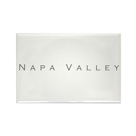 Napa Valley Rectangle Magnet