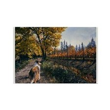 The Road Home Rectangle Magnet (100 pack)