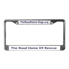 Cute K9 License Plate Frame