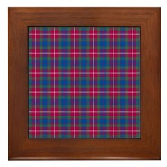 Tartan - Fraser of Lovat Framed Tile