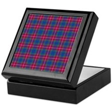 Tartan - Fraser of Lovat Keepsake Box