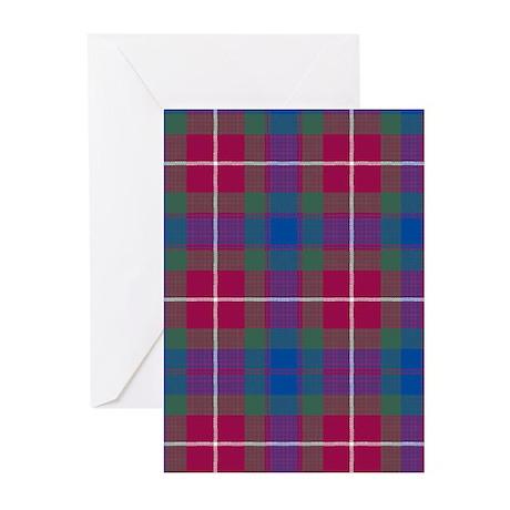 Tartan - Fraser of Lovat Greeting Cards (Pk of 20)