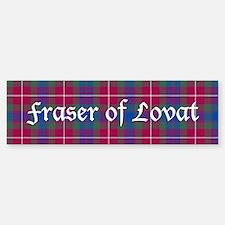 Tartan - Fraser of Lovat Sticker (Bumper)