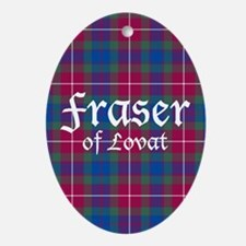 Tartan - Fraser of Lovat Ornament (Oval)