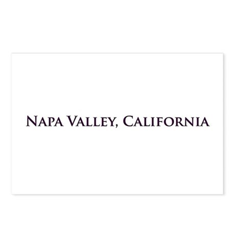 Napa Valley, California Postcards (Package of 8)