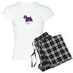 Terrier - Fraser of Lovat Women's Light Pajamas