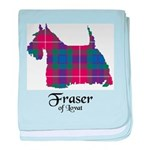 Terrier - Fraser of Lovat baby blanket
