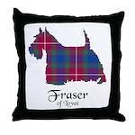 Terrier - Fraser of Lovat Throw Pillow