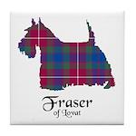 Terrier - Fraser of Lovat Tile Coaster