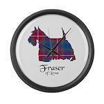 Terrier - Fraser of Lovat Large Wall Clock