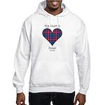 Heart - Fraser of Lovat Hooded Sweatshirt