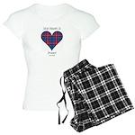 Heart - Fraser of Lovat Women's Light Pajamas