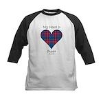 Heart - Fraser of Lovat Kids Baseball Jersey