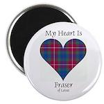 Heart - Fraser of Lovat Magnet