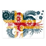 Alaska Flag Postcards (Package of 8)