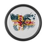 Alaska Flag Large Wall Clock