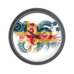 Alaska Flag Wall Clock