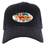 Alaska Flag Black Cap