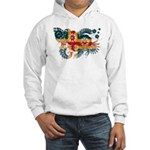 Alaska Flag Hooded Sweatshirt