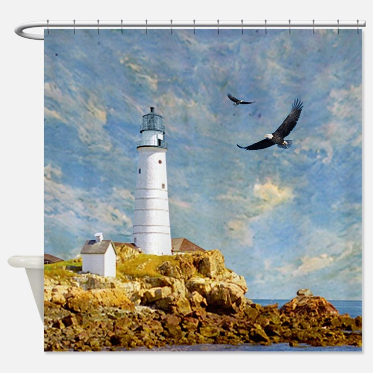 mural shower curtains | mural fabric shower curtain liner